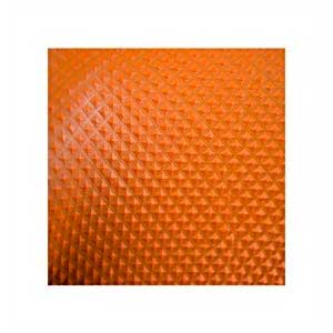 Gloveworks HD GWON Orange Nitrile Industrial Latex Free Disposable Gloves Texture Close-up
