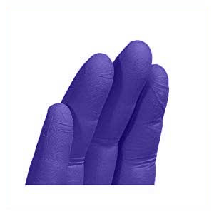 Ammex APFN Nitrile Disposable Glove Close-up