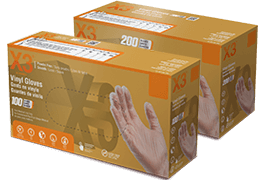 GPX3 and GPX3D disposable gloves